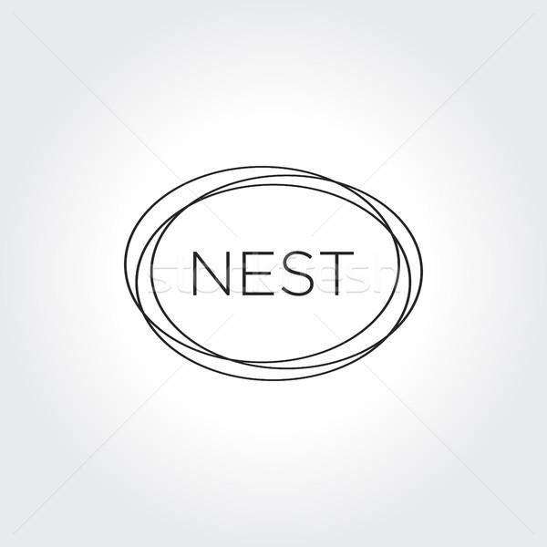 600x600 Bird Nest Vector Illustration User 11138126 ( 8057591) Stockfresh