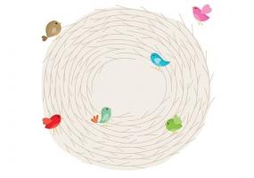 285x200 Bird Nest Free Vector Graphic Art Free Download (Found 3,997 Files