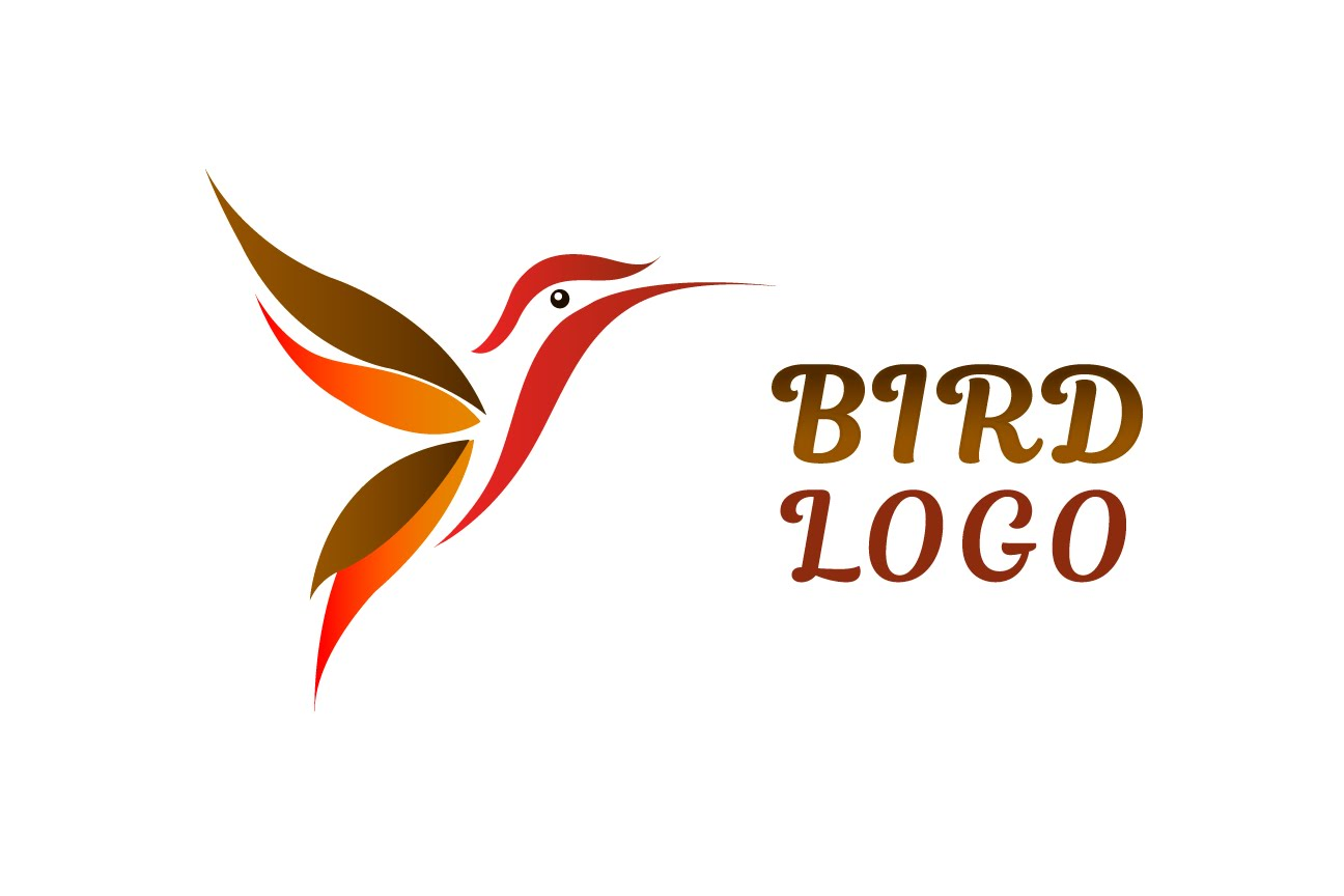 1296x864 Illustrator Tutorial Vector Bird Logo Design