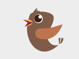 270x200 Free Bird Vector Graphics