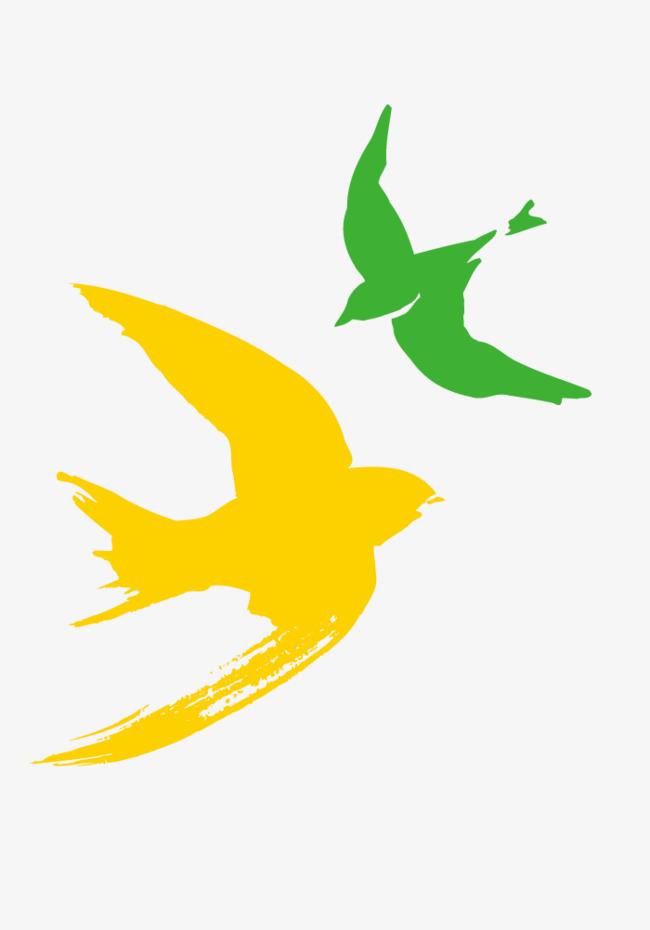 650x930 Hand Drawn Flying Bird Vector, Hand Painted Birds, Flying Birds