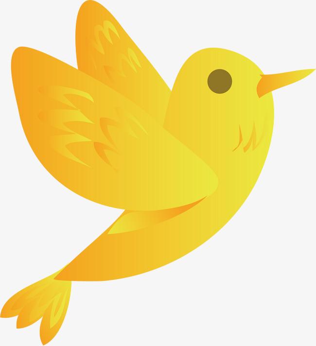 650x712 Yellow Bird Vector, Bird Vector, Bird Clipart, Birds Png And