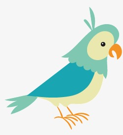 250x274 Cartoon Bird Vector Material, Cartoon Vector, Bird Vector, Bird