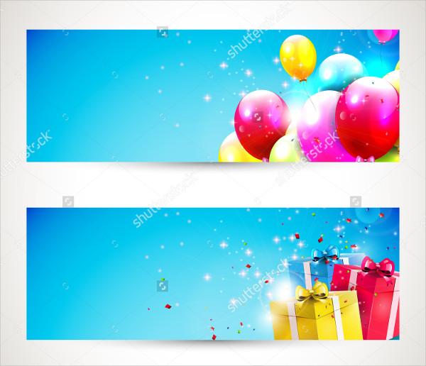 600x516 Birthday Banner Templates