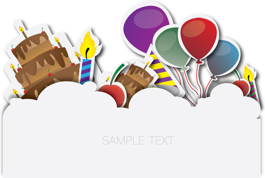 547x368 Happy Birthday Banner Free Vector Download (13,997 Free Vector