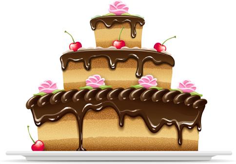 484x337 Birthday Cake Vector Art Free Vector Download (217,028 Free Vector