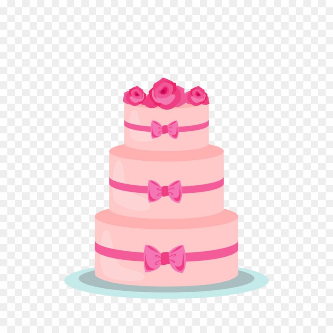 1080x1080 3 Tier Birthday Cake Vector Shopatcloth