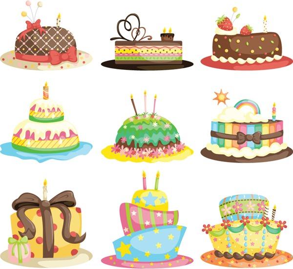 600x551 Cartoon Birthday Cake Vector Graphics My Free Photoshop World