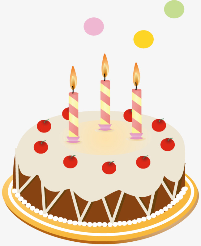 650x793 Png Birthday Cake Vector Material, Birthday Vector, Cake Vector