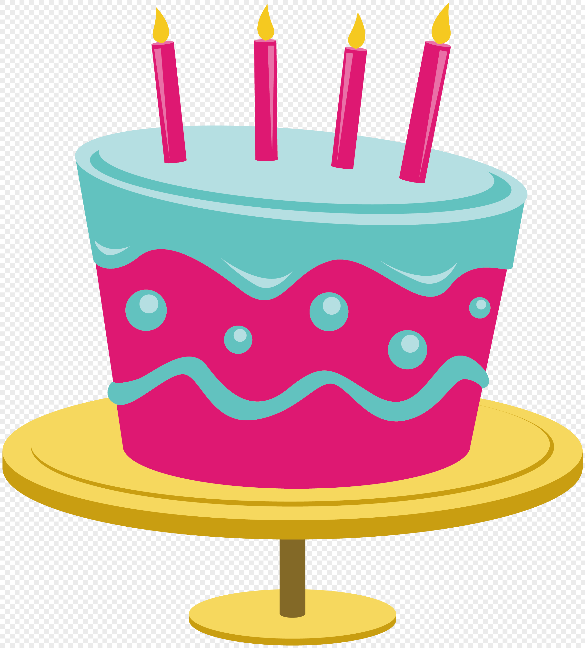 2398x2659 Cartoon Birthday Cake Vector Material Png Image Picture Free