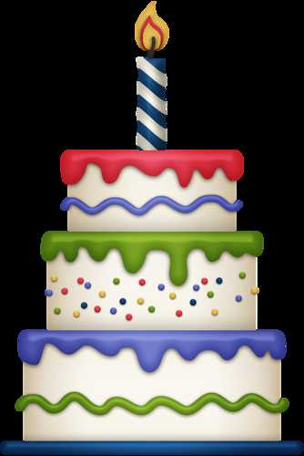 334x500 Cute Birthday Cake Clipart Gallery Free Picture Cakes 3 Unique Of