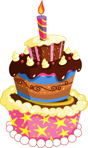 Birthday Cake Vector Free Download