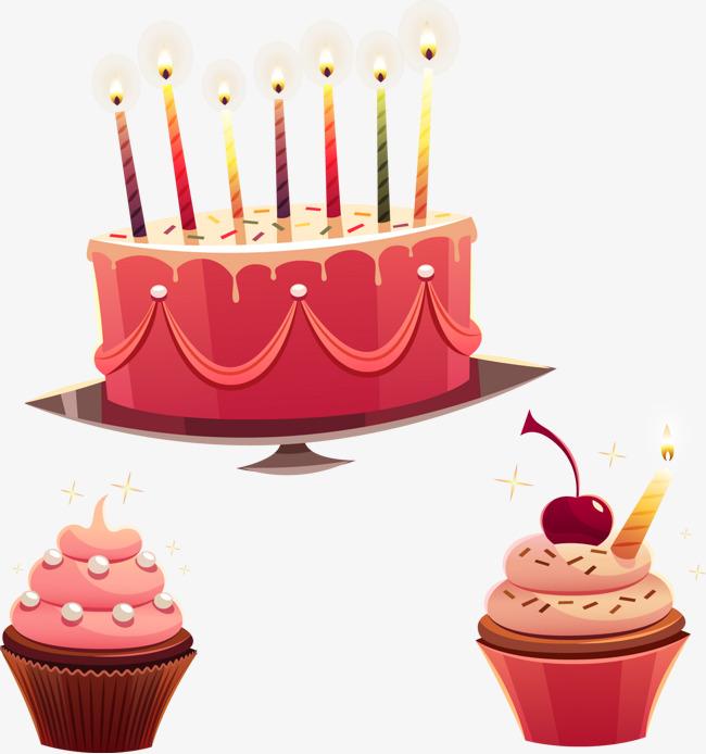 650x694 Birthday Cake Vector Material, Cake Clipart, Pastry, Birthday Cake