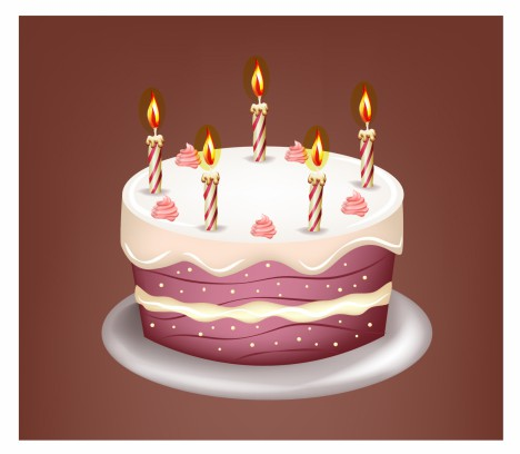 468x408 Birthday Cake Vectors Stock In Format For Free Download 2.50mb