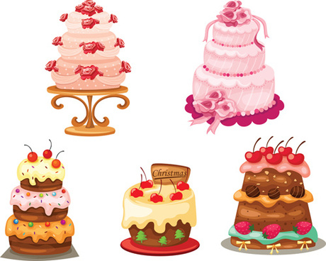 460x368 Birthday Cake Free Vector Download (1,656 Free Vector) For