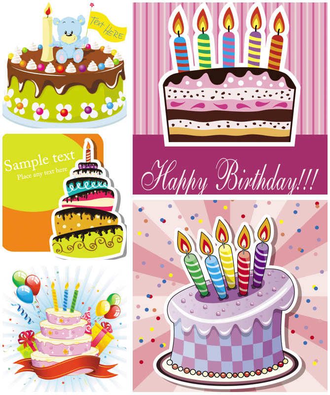 669x800 Birthday Cake Vector Vector Graphics Blog