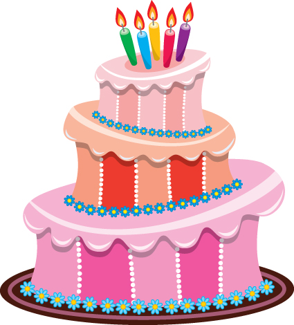 425x470 Set Of Birthday Cake Vector Material 01 Free Download