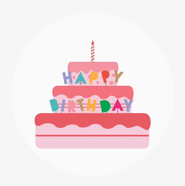 650x651 Birthday Cake Vector, Birthday Vector, Cake Vector, Birthday Cake