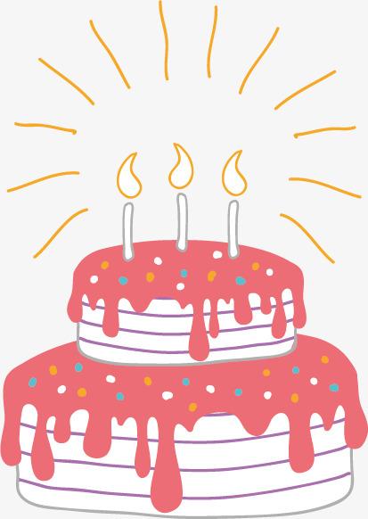 413x582 Birthday Cake Vector, Birthday Vector, Cake Vector, Happy Birthday