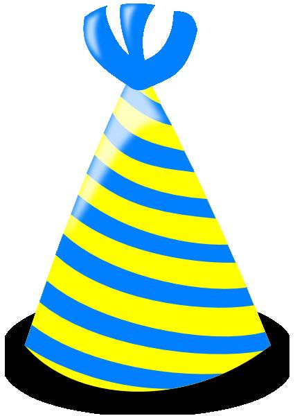 426x600 Birthday Hat Vector Clipart