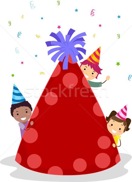 436x600 Birthday Hat Vector Illustration Lenm ( 981036) Stockfresh