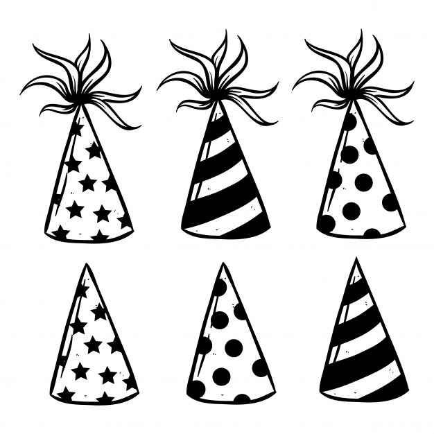 626x626 Birthday Hat Vector Premium Download
