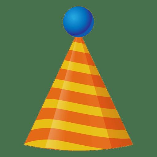 512x512 3d Birthday Hat Icon