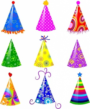 305x368 Vector Birthday Hat Free Vector Download (2,192 Free Vector) For