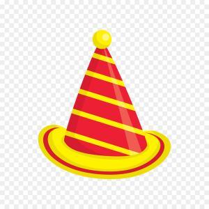 300x300 Birthday Hat Party Celebration Vector Orangiausa