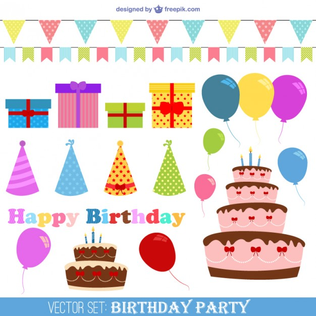626x626 Happy Birthday Vectors Free Vector Graphics Everypixel