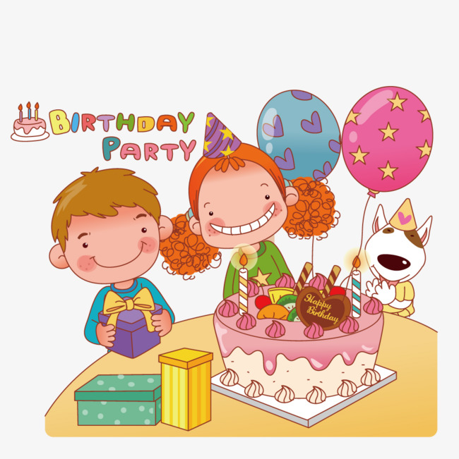 650x651 Birthday Party, Vector, Cake, Get Together Png And Vector For Free