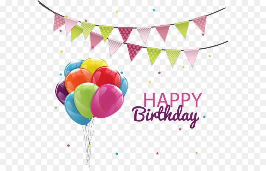 900x580 Birthday Cake Balloon Party