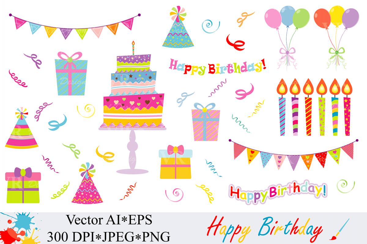 1200x800 Happy Birthday Clipart