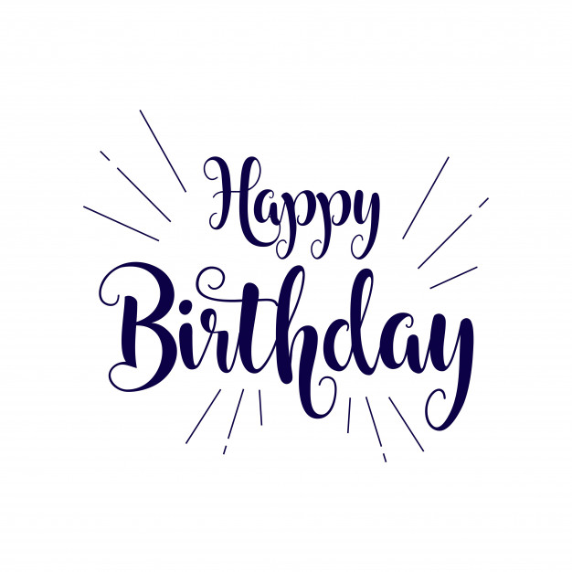 626x626 Happy Birthday Vector Template Design Illustration Vector