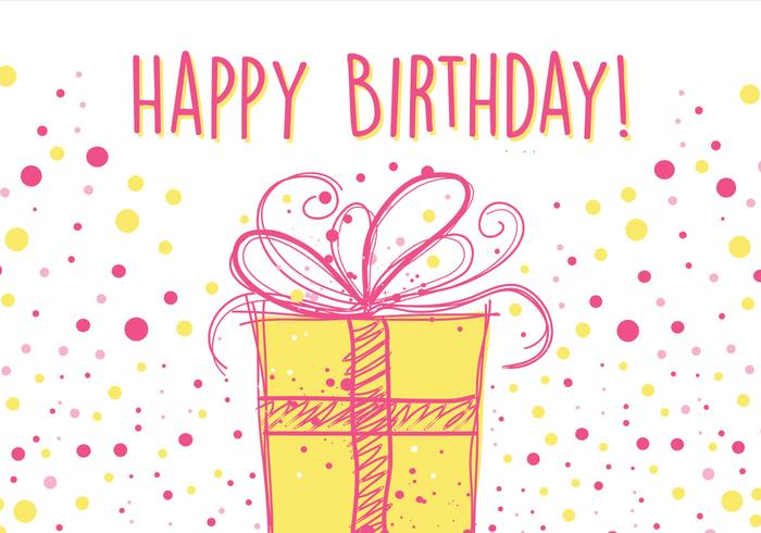 700x490 Design A Birthday Card Birthday Card Design Download Free Vector