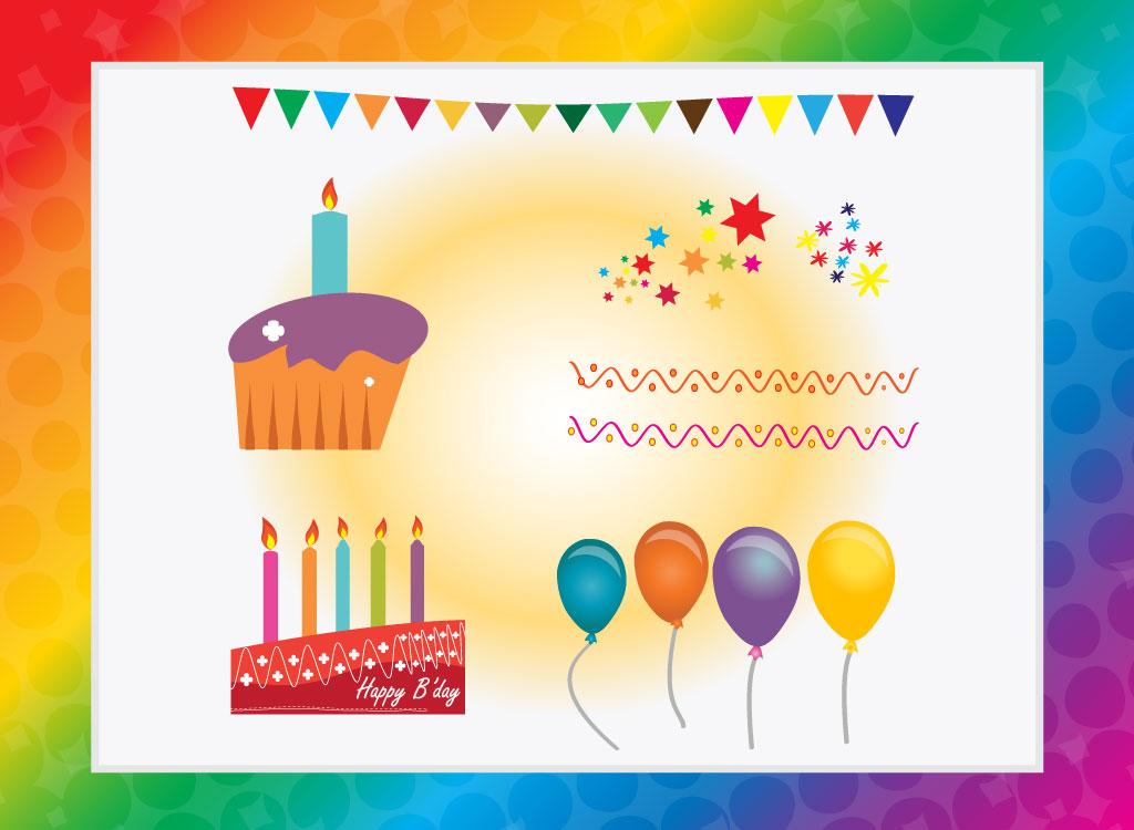 1024x750 Free Happy Birthday Vectors
