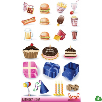 350x350 Free Vector Food Vector Birthday Vector Goods And Fast Food 2.84mb