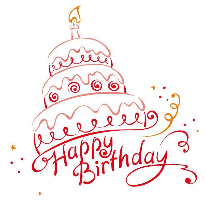 810x793 Happy Birthday Vector Free Vector Graphic Download