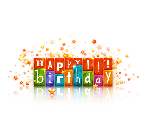 500x431 Cute Happy Birthday Cards Vector 02 Free Download
