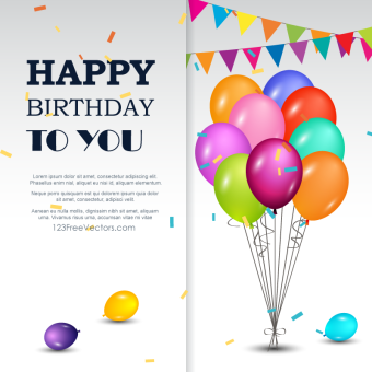340x340 Happy Birthday Vector Art Vectors Download Free Vector Art
