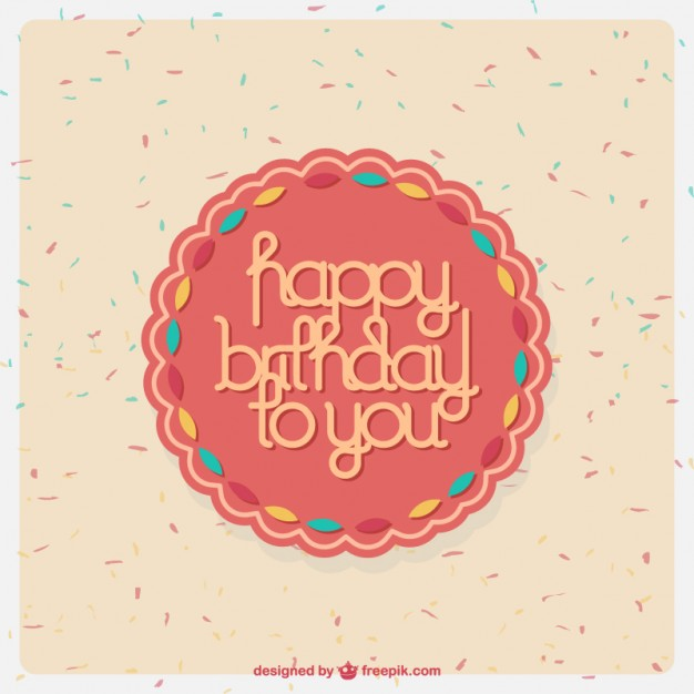 626x626 Happy Birthday Vectors Free Vector Graphics Everypixel
