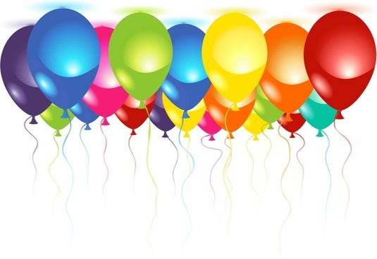 535x368 Birthday Balloon Icon Free Vector Download (24,912 Free Vector