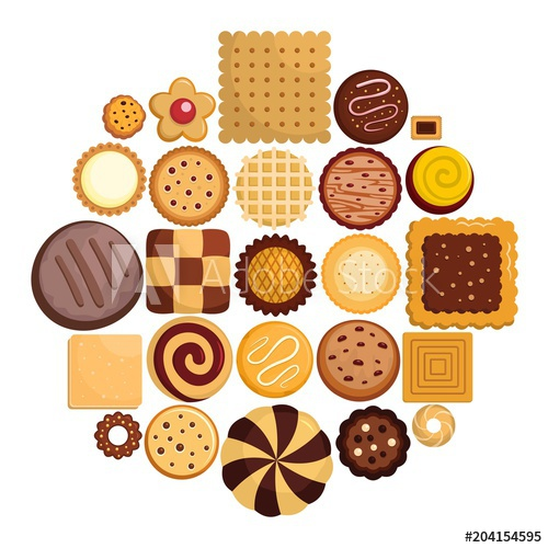 The Best Free Biscuit Vector Images Download From 50 Free Vectors