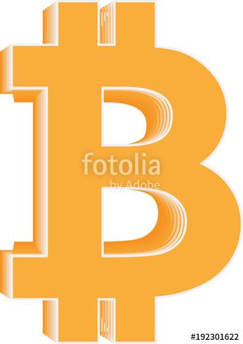 353x500 Bitcoin Vector Halftone Icon. Cryptocurrency And Blockchain Symbol