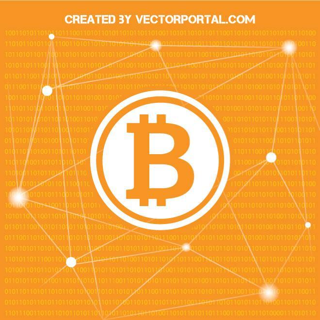 660x660 Bitcoin Vector Illustration