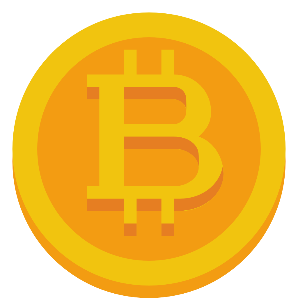 1024x1024 Collection Of Free Bitcoin Vector Illustration. Download On Ubisafe