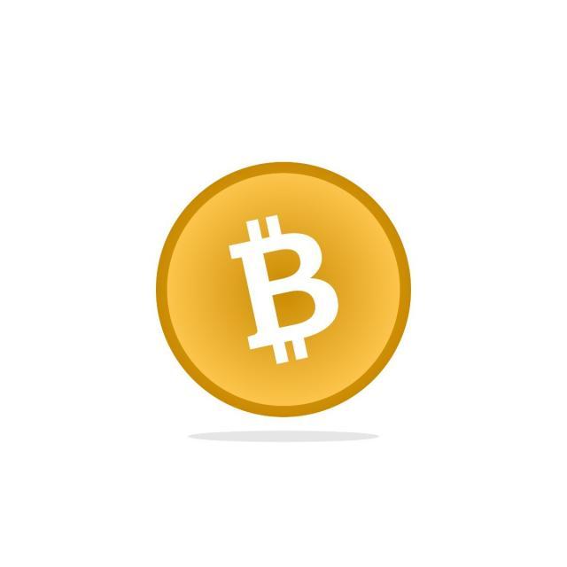 640x640 Plantilla De Bitcoin Vector La Banca Bitcoin Vector Png Y Vector