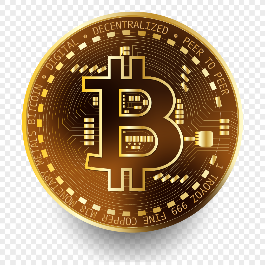 1020x1020 Virtual Bitcoin Vector Material Png Image Picture Free Download