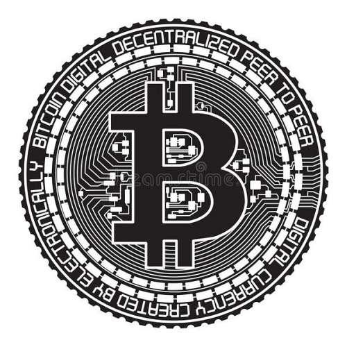500x500 Bitcoin Vector Free Download Btc Create Via Mining