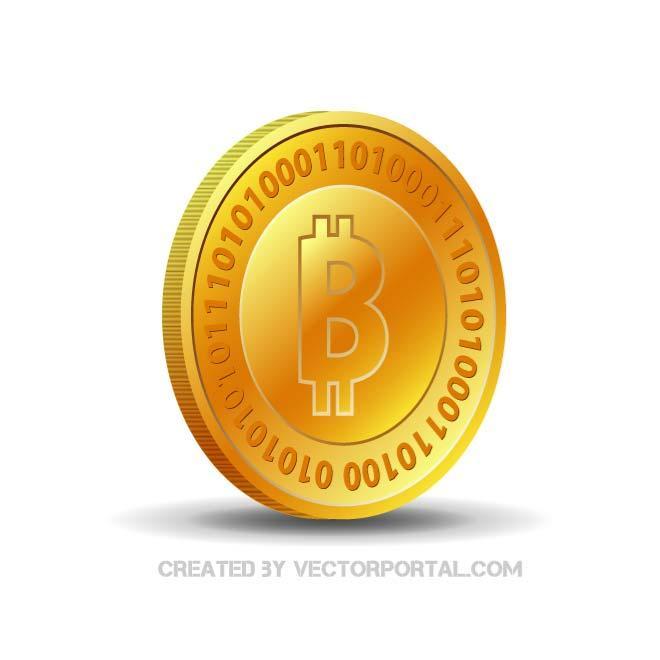 660x660 Bitcoin Vector Image